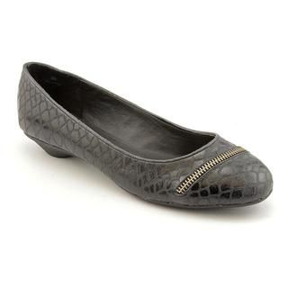 Moda Spana Womens Incite Snakeskin Casual Shoes   Wide (Size 8