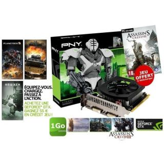PNY GTX650 Ti 1Go GDDR5 + Assassin's Creed III   Achat / Vente CARTE