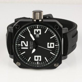 ESS New Gents Automatic Mechanical Wrist Watch with Black Leather