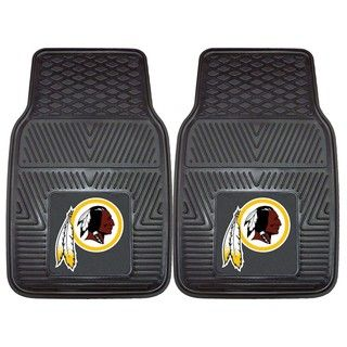Fanmats Washington Redskins 2 piece Vinyl Car Mats