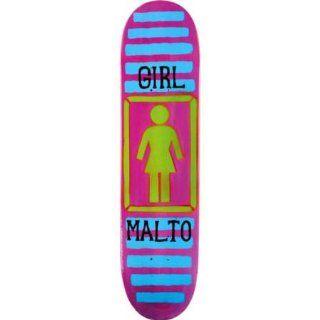 Girl Sean Malto BA Stencil 8.125 Skateboard Deck