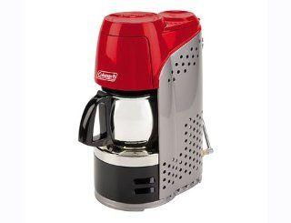 Coleman Portable Instastart Coffee Maker with carafe and