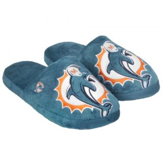 Miami Dolphins Big Logo Slippers