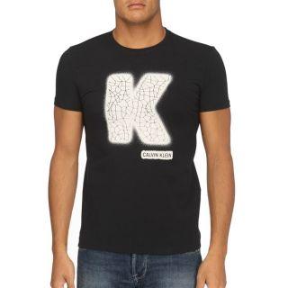 CALVIN KLEIN JEANS T Shirt Homme Noir   Achat / Vente T SHIRT CKJ T