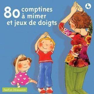 80 COMPTINES A MIMER ET JEUX DE DOIGTS   Achat CD COMPILATION pas cher
