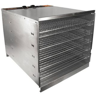 Weston 74 1001 W Stainless Steel Food Dehydrator