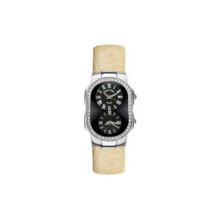 Philip Stein Womens Diamond accented Watch