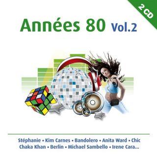 ANNEES 80 VOL 2   Compilation   Achat CD COMPILATION pas cher