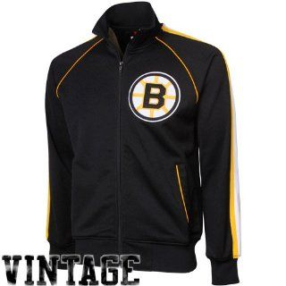 Mitchell & Ness Boston Bruins Black Breakaway Pass Full