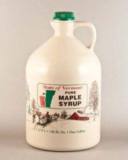 Gallon Pure Vermont Maple Syrup (128oz) Grade Fancy
