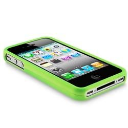 Snap on Apple iPhone 4 Rubber Coated Case