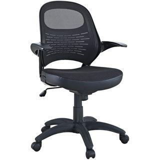 Candid Sleek Office Mesh Chair wih Flip Up Arms