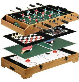 Franklin Sports 6 In 1 Table Top Game Center Sports