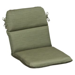 Pillow Perfect Outdoor Green Textured Chair Cushion with Sunbrella