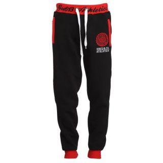 GANGSTER UNIT Pantalon de Jogging Homme Noir et rouge   Achat / Vente