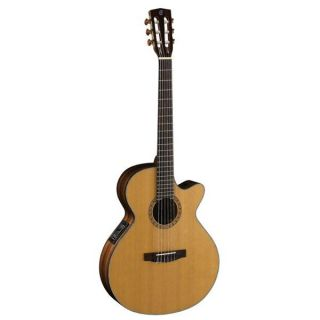 CORT Guitare Electro Acoustique Série CEC7NAT   CEC 7, pan coupé