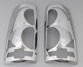 1999 02 Chevy Silverado Bowtie  Chrome Taillight Covers