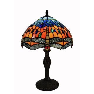 Tiffany Style Tangy Dragonfly Table Lamp Today $80.99 2.0 (1 reviews