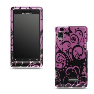 Motorola Droid 2 A955 Purple Black Case