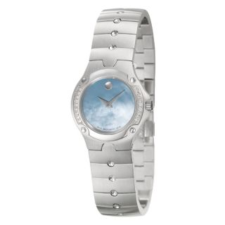 Movado Womens Sports Edition Stainless Steel Watch