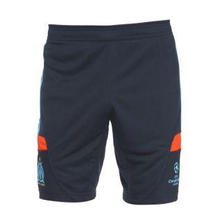 Modèle OM UCL Trg. Coloris  marine et orange. Short de Foot ADIDAS