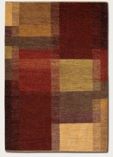 96 x 136 Area Rug Eco Friendly Contemporary Style in