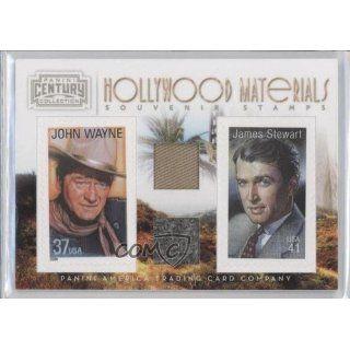 John Wayne/Jimmy Stewart #137/250 (Trading Card) 2010 Panini Century