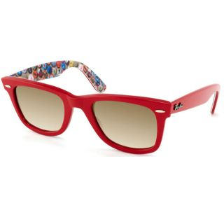 Ray Ban Womens Special Edition Wayfarer Red Buttons Plastic