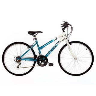 Titan Wildcat Womens White/ Teal Mountain Bike