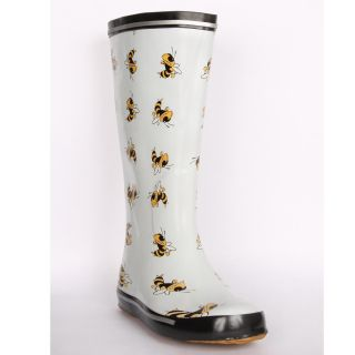 Georgia Tech Yellow Jacket Womens Scattered Logo Rain Boots