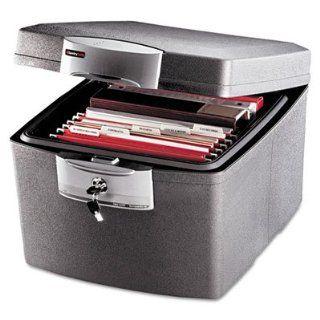 /Tubular Key Fire Safe, 135 Pound, Black/Gray