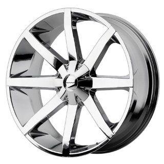 KMC Wheels Slide KM651 Chrome Wheel (24x9.5/6x135mm)