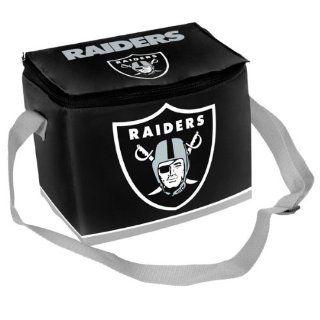 Oakland Raiders Big Logo 12 Pack Zipper Lunch Cooler