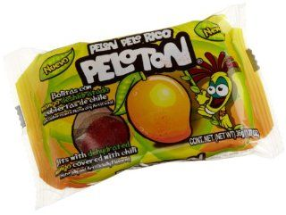 Pelon Pelo Rico Peloton, Mango Chile, 4 Count Packages (Pack of 16