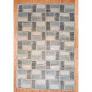Tibetan Hand knotted Ivory/ Beige Wool Rug (910 x 137) Today $1,879