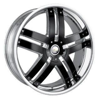 Baccarat Fusion 2140 Chrome Wheel with Black Facet (22x9.5/6x139.7mm