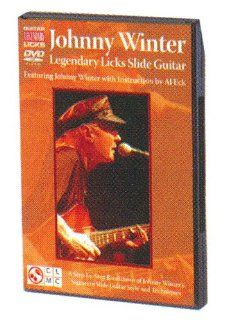 Johnny Winter Legendary Licks Slide Guitar DVD Johnny