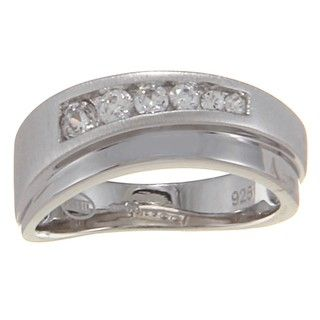 Fossil Jewelry Womens Sterling Silver Ring