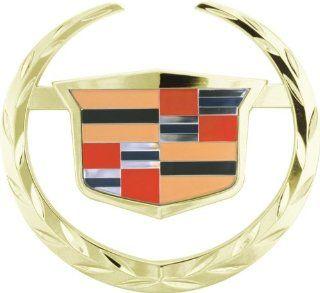 Bully CR 141G Gold Cadillac Escalade Logo Hitch Cover