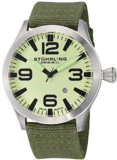 Stuhrling Original Mens 141B.331D5 Aviator Tuskegee Skylancer Swiss