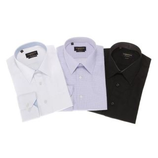 TORRENTE COUTURE 3 ChemisesMahon/Doumer/MacMahon Noir et gris, blanc