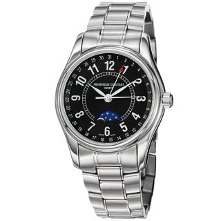Frederique Constant Mens Index Automatic Moon Phase Watch