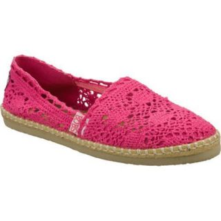 Womens Skechers BOBS Doily Pink