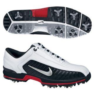 Nike Air Zoom Elite II White/ Silver/ Black Golf Shoes