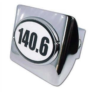 IronMan 140.6 Premium Chrome Metal Trailer Hitch Cover