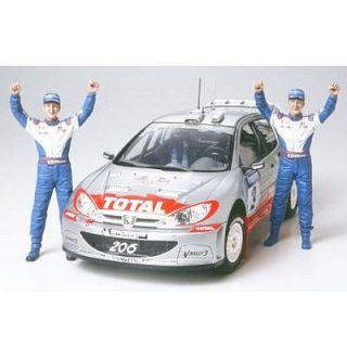 Peugeot 206 WRC 2002 Winner Version   Achat / Vente MODELE REDUIT
