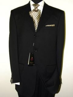 Italian 3 Button 2pc Mens Suit Merino Wool 140s Hand