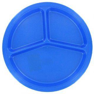 Plastics PP144D 10 1/2 Divided Picnic Plate, Assorted