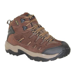 AdTec Mens Brown Suede Leather Work/ Hiker Boots