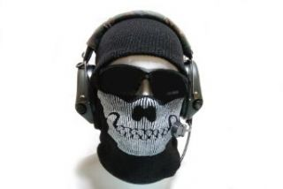 Warfare 2 Task Force 141 Ghost Skull Face Mask Balaclava Clothing